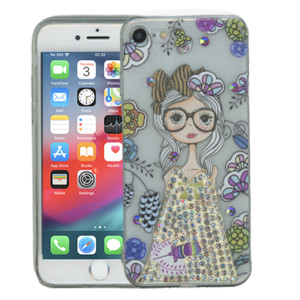 Iphone 7/8  MM Electroplated Bling Girl 1