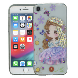Iphone 7/8  MM Electroplated Bling Girl 2