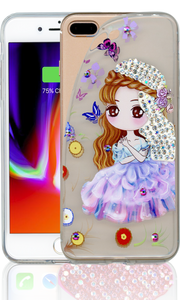 Iphone 7 PLUS/8 PLUS MM Electroplated Bling Girl 2