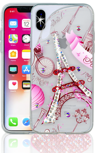 Iphone X/10/XS MM Electroplated Bling Paris