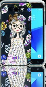 Samsung Galaxy J3 Emerge MM Electroplated Bling Girl1