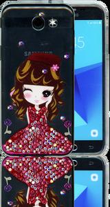 Samsung Galaxy J3 Emerge MM Electroplated Bling Girl3