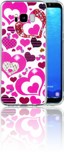 Samsung Galaxy S8 MM Electroplated Bling Heart