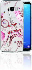 Samsung Galaxy S8 MM Electroplated Bling Paris