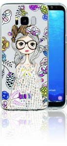 Samsung Galaxy S8 MM Electroplated Bling Girl 1