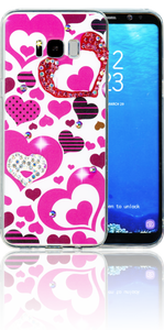 Samsung Galaxy S8 PLUS  MM Electroplated Bling Heart