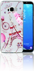 Samsung Galaxy S8 PLUS  MM Electroplated Bling Paris