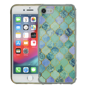Iphone 8/7 MM Opal Art Series Turquoise Stone