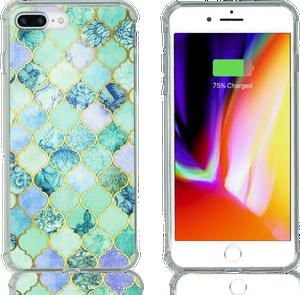 Iphone 7 PLUS/8 PLUS MM Opal Art Series Turquoise Stone