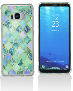 Samsung S8 MM Opal Art Series Turquoise Stone