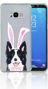 Samsung S8 PLUS MM Opal Art Series Dog(Tempered Glass Included)