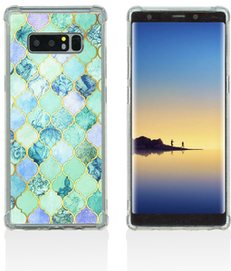 Samsung NOTE 8 MM Opal Art Series Turquoise Stone