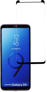 Samsung Galaxy S9 Plus  MM Full Covered Tempered Glass Black (Case Friendly)