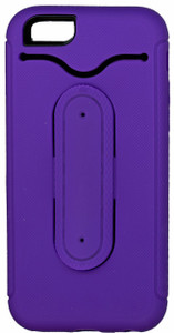 iphone 6/6S Snap Tail Hybrid Case With Kickstand Purple