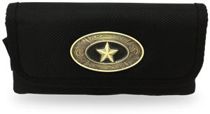Samsung Note 5/4/3/8/S8+ Western Pouch Bronze Star
