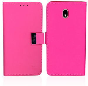 Samsung Galaxy J7 Star/Refine/(2018) MM Premium Folio Wallet Hot Pink