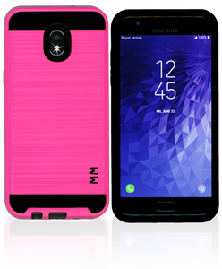 Samsung Galaxy J3(2018) MM Slim Dura Metal Finish Hot Pink