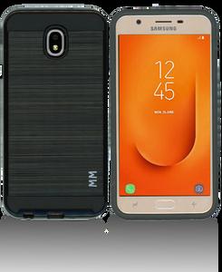 Samsung Galaxy J7 Star/Refine/(2018) MM Slim Dura Metal Finish Black