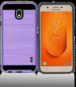 Samsung Galaxy J7 Star/Refine/(2018) MM Slim Dura Metal Finish Purple