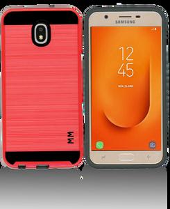 Samsung Galaxy J7 Star/Refine/(2018) MM Slim Dura Metal Finish Red