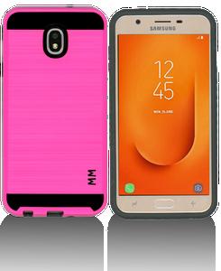 Samsung Galaxy J7 Star/Refine/(2018) MM Slim Dura Metal Finish Hot Pink