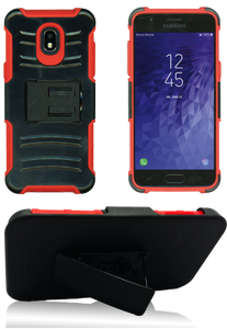 Samsung Galaxy J3 (2018) MM Combo 3 in 1 Red