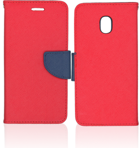 Samsung Galaxy J7 Star/Refine/(2018) Professional Wallet Red