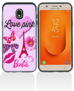 Samsung Galaxy J7 Star/Refine/(2018) MM Pop Kick Case Love Paris