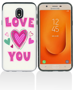 Samsung Galaxy J7 Star/Refine/(2018) MM Pop Kick Case Love You