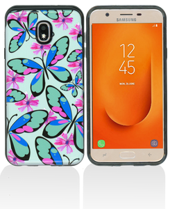 Samsung Galaxy J7 Star/Refine/(2018) MM Pop Kick Case Butterfly