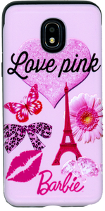 Samsung Galaxy J3(2018) MM Pop Kick Case Love Paris