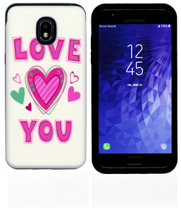 Samsung Galaxy J3(2018) MM Pop Kick Case Love You