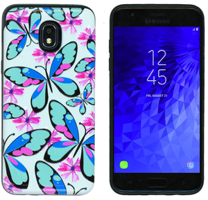 Samsung Galaxy J3(2018) MM Pop Kick Case Butterfly