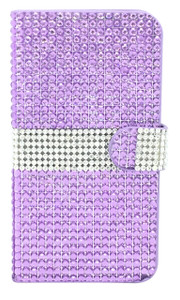 iphone 6/6S Full Bling Wallet Purple