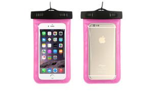 Waterproof  bags for Phone Pink