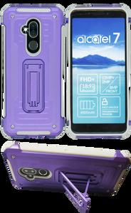 Alcatel 7 Folio MM Opal Kickstand Purple