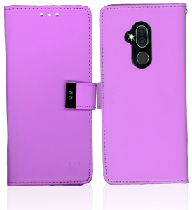 Alcatel 7 Folio MM Premium Folio Wallet Purple