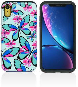 iPhone XR MM Pop Kick Case Butterfly