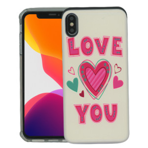 iPhone XS MAX MM Pop Kick Case Love You