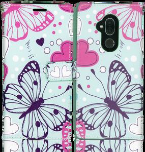Alcatel 7 Folio MM Professional Wallet Butterfly