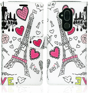 Alcatel 7 Folio MM Professional Wallet Paris Tower