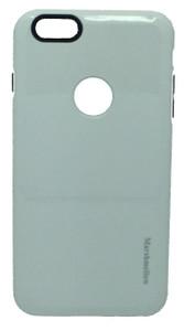 iphone 6 Plus/6S PLUS MM Dual Layer SLIM Case White