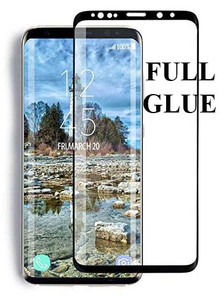 Samsung Galaxy S9 Plus MM Full Glue Curved Glass Black-Case Friendly
