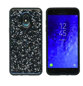 Samsung Galaxy J3(2018) MM Marble Case Silver