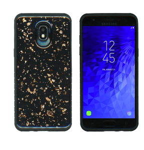 Samsung Galaxy J3(2018) MM Marble Case Rose Gold