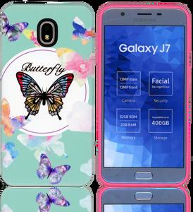 Samsung Galaxy J7(2018) MM Fancy Design Butterfly