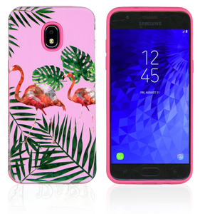 Samsung Galaxy J3(2018)MM Fancy Design Flamingo