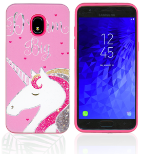 Samsung Galaxy J3(2018)MM Fancy Design Unicorn