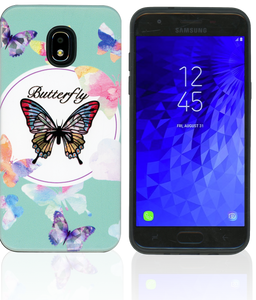 Samsung Galaxy J3(2018)MM Fancy Design Butterfly