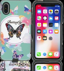 iPhone X MM Fancy Design Butterfly